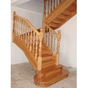Лестница дизайн D051 фото