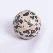 Шарик: камень - яшма цвет светло-коричневый непрозрачный, Размер: 3,5 см, Вес изделия: 54,9 гр, код товара: бр1005 фото