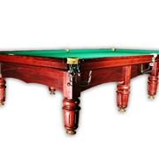 Перетяжка бильярдных столов. Качество превышает цену. фото
