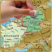 Скретч-карта мира фото