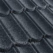 Черепица композитная Metrotile MetroBond Сланцево-серая фото