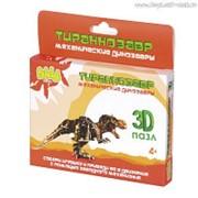 """Пластиковый 3D-пазл с заводным механизмом Bebelot Basic """"Тиранозавр"""" фото"""