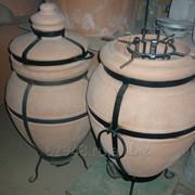 Печь угольная керамическая - тандыр фото