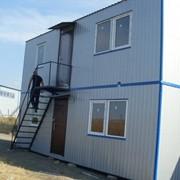 Модульное быстровозводимое здание общежитие фото
