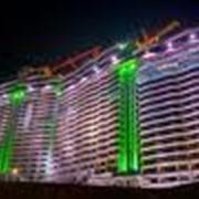 Освещение административных зданий фото