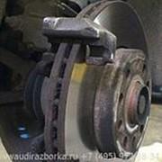 Тормозной диск передний левый Skoda Оctavia 2 фото
