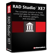 RAD Studio XE7 Enterprise Upgrade 10 Named Users (Embarcadero Technologies) фото