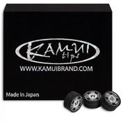 Наклейка для кия Kamui Snooker Black ø11мм Medium фото
