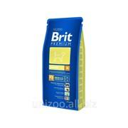 Сухой корм для щенков Brit Premium Junior M 3 кг фото