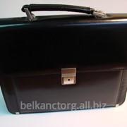 Портфель женский,кожа,чёрный,TOP BUSINESS LADY,2-233. фото