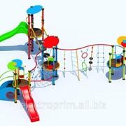 Комплексное детское сооружение модель КМ13 фото