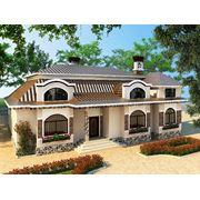 Визуализация фасада дома в Кишиневе фото