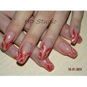 Обучение наращиванию ногтей фото