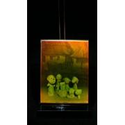 Сувенир голографический с подсветкой настольный Репка фото