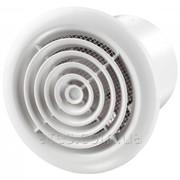 Бытовой вентилятор d125 Вентс 125 ПФ алюм. мат. фото