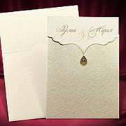 Элегантные приглашения на свадьбу, приглашение на свадьбу фото
