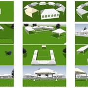Шатры для выполнения работ в полевых условиях - Прокат, аренда фото