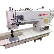 Двухигольная промышленная швейная машина фото