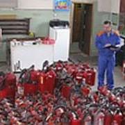 Заправка огнетушителей фото