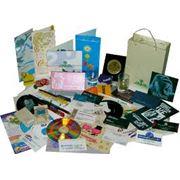 Печать трафаретная: визитки конверты бланки папки фото