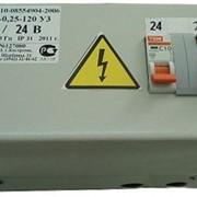 Ящик с понижающим трансформатором ЯТП-0,25 2АВ 220/ 24 фото