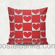 Подушка декоративная Red Heart 35х35 cм 08 фото