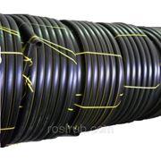 Труба полиэтиленовая газопроводная ПЭ100 Д63 SDR17,6 фото