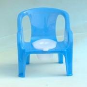 Горшок пластмассовый детский (стул) фото