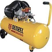 DENZEL Компрессор воздушный PC 2/100-360, 2.3 кВт, 360 л/мин, 100 л, 10 бар. DENZEL фото