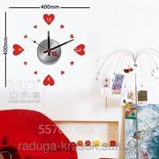 Часы Стикеры размер 40х40см фото