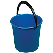 Ведро пластмассовое без крышки, 10 л, (ЭКОМОП) фото