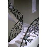 Лестницы металлические фото