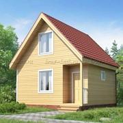 Строительство каркасного дома 6 на 6 фото
