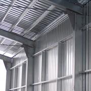Каркасы промышленных зданий и сооружений: колонны, подкрановые балки, стропильные фермы, ригели, распорки, связи, балочные клетки, площадки, переходы фото