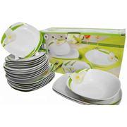 Набор тарелок из 21 ед фото