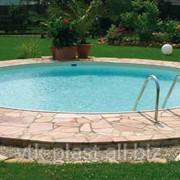 Круглый бассейн из полипропилена фото