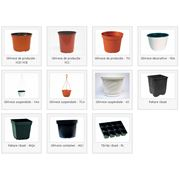 Горшки для цветов пластиковые фото