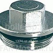 "Заглушка для коллектора 1 1/4 НР"", с уплотнением O-ring, хромированная, артикул FK 4150 114 фото"