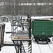 Доставка металла железнодорожным транспортом фото