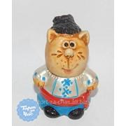 Молд силиконовый 3Д Кот, код 581 фото