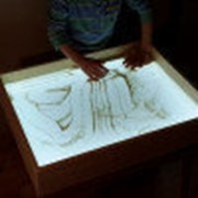 Планшет для рисования песком фото