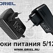 Блоки питания 5/12В для DVB-T2 приставок ORIEL фото