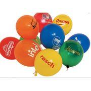 Реклама на воздушных шарах фото