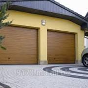 Ворота автоматические секционные в Молдове фото