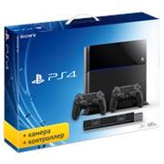 Игровая приставка SONY PlayStation 4 + Камера + Джойстик фото