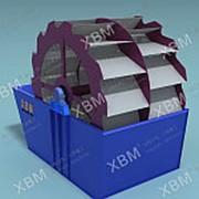 Вращающаяся моечная машина для руды 2XLZ-914 фото
