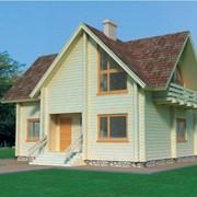 Дом из клееного бруса Симон фото