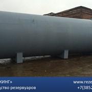 Резервуар стальной для хранения нефтепродуктов фото