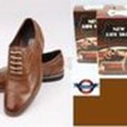 Коричневая краска для обуви NLS фото