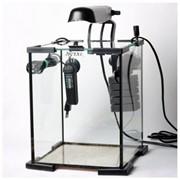 Leddy Tube 10 SHRIMP SET AquaEl аквариум настольный, 10 литров, Розничная, Прозрачный с чёрной каймо фото